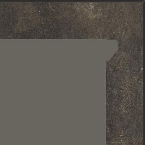 Płytki elewacyjne Cokół Paradyż Scandiano Brown 2 EL.-PRAWY 8,1X30 cm