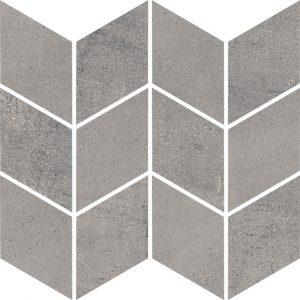 Mozaika Cięta Paradyż Space Grafit Romb Braid Mat 20,5 x 23,8 cm
