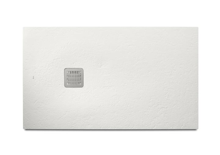 Brodzik prostokątny Roca Terran 1200x800 mm Syfon w kpl. Biały AP014B032001100