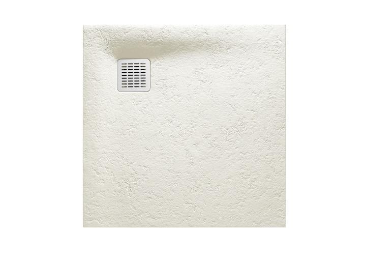 Brodzik kwadratowy Roca Terran 900x900 mm Syfon w kpl. Złamana biel AP0338438401090