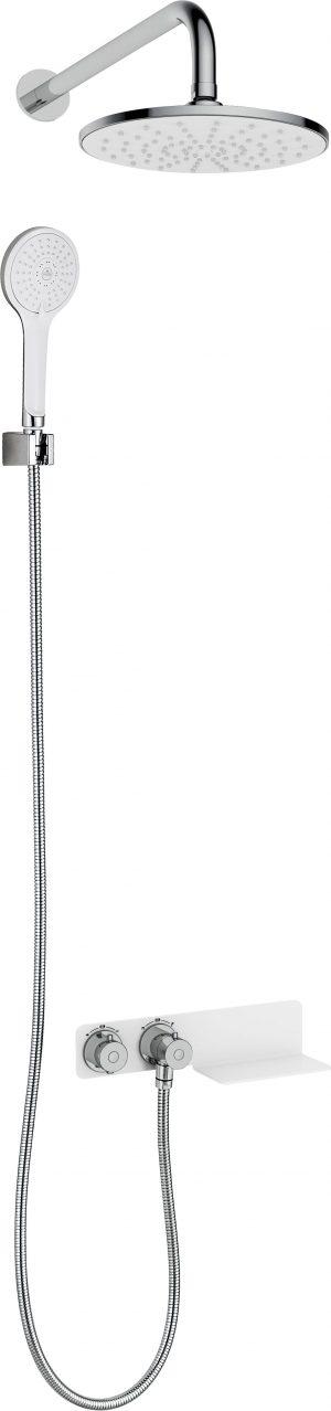 Komplet podtynkowy Deante Lobelia z baterią termostatyczną NAC_690T