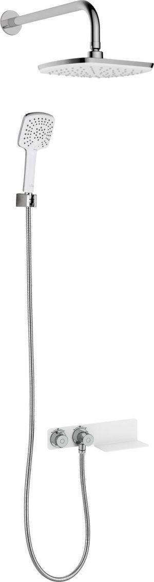 Komplet podtynkowy Deante Lobelia z baterią termostatyczną NAC_691T