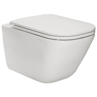 Zdjęcie Miska WC podwieszana Roca Gap Square Rimless 540 A34647L000