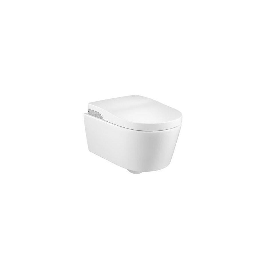 In-Wash® - toaleta myjąca podwieszana Roca Inspira Rimless, zasilanie 230V A803060001