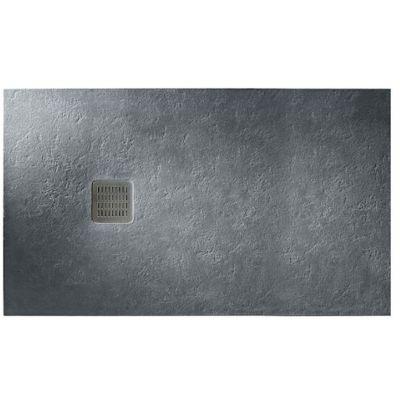 Brodzik prostokątny Roca Terran 1800x900 mm Syfon w kpl. Szary łupek AP0170838401200