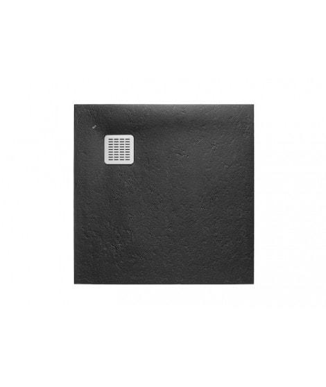 Brodzik kwadratowy Roca Terran 900x900 mm Syfon w kpl. Czarny AP0338438401400