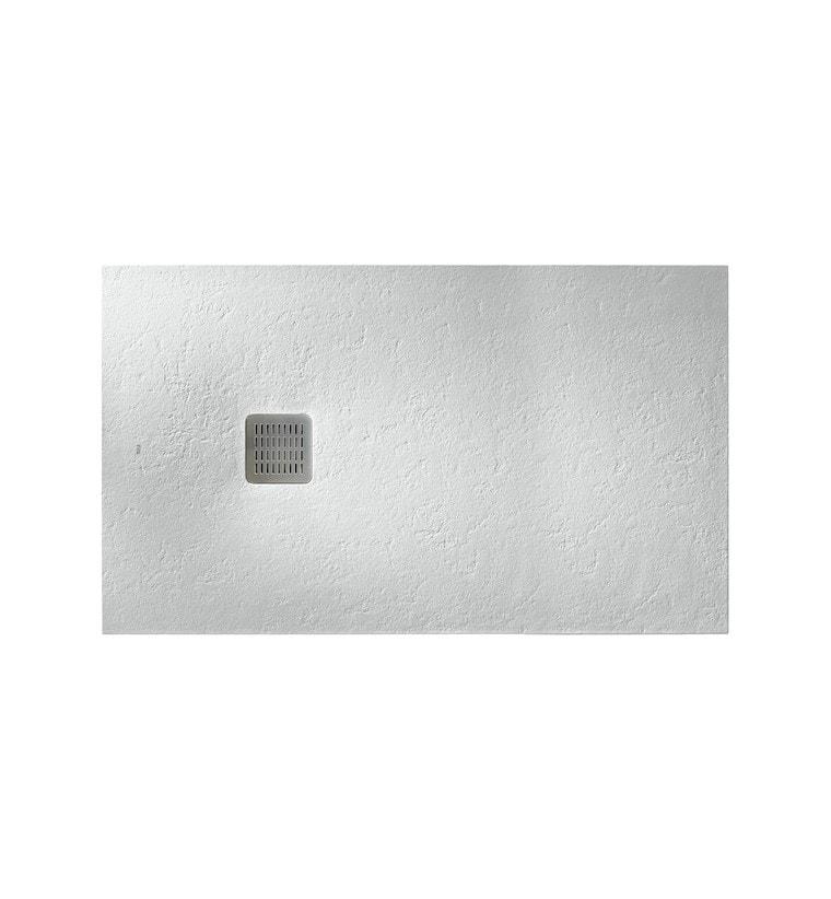 Brodzik prostokątny Roca Terran 1600x800 mm Syfon w kpl. Złamana biel AP0164032001090