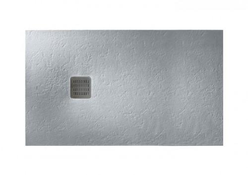 Brodzik prostokątny Roca Terran 1000x900 mm Syfon w kpl. Szary cement AP013E838401300