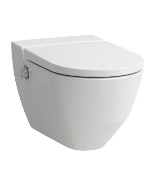 Toaleta myjąca podwieszana Laufen Navia RIMLESS 370x580 mm H8206014000001