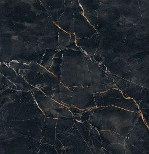 Płytka podłogowa Tubądzin Shinestone Black Poler 59,8x59,8 cm (p) PP-01-233-0598-0598-1-013