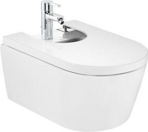 Bidet podwieszany Roca Inspira 37x56 cm Round Maxi Clean A35752500M
