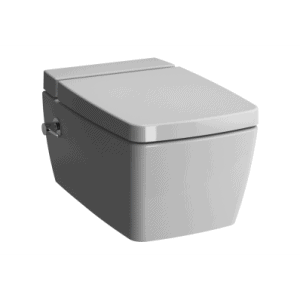 Miska WC wisząca Metropole 56x36 cm VitraFlush z funkcją bidetu z deską wolnoopadającą 7672B003-1087 + 90-003-409