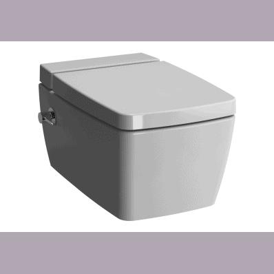 Miska WC wisząca Metropole 56x36 cm VitraFlush z funkcją bidetu 7672B003-1087 / 90-003-409