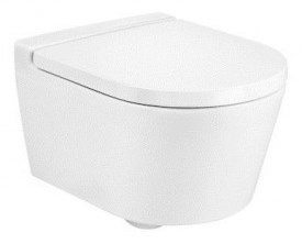 Miska WC podwieszana Roca Inspira 37x48 cm Rimless Round Compacto A346528000