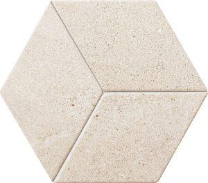 Mozaika ścienna Tubądzin Vestige beige STR 19,8x22,6 cm (p) MS-01-223-0198-0226-1-031