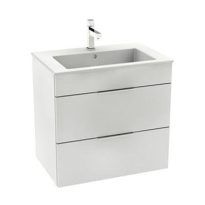 Zestaw łazienkowy Roca Suit 64x62 cm Unik z 2 szufladami (szafka+umywalka), Biały połysk   A851180806