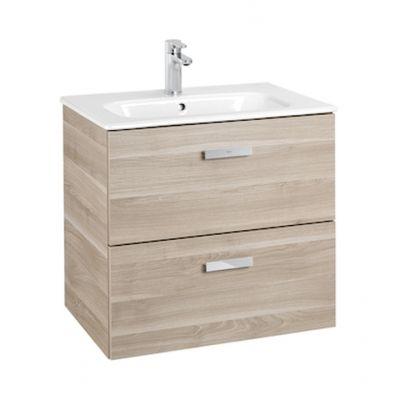 Zestaw łazienkowy Roca Victoria Basic 60x56,5 cm Unik z 2 szufladami (szafka+umywalka) Brzoza A855854422