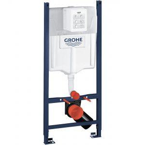 GROHE Stelaż do WC podtynkowy Rapid SL 2w1 500 x 1130 x 230 mm chrom w komplecie: kątowniki mocujące 39069000 .
