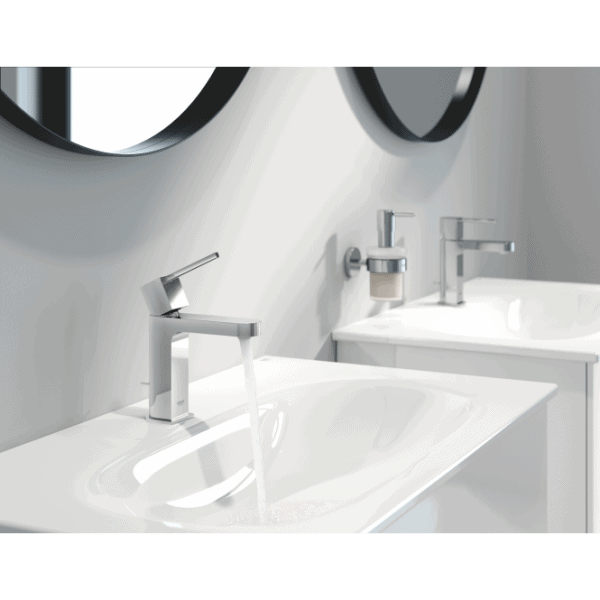 Zdjęcie Bateria umywalkowa stojąca Grohe Plus jednouchwytowa DN 15 rozmiar S chrom 32612003