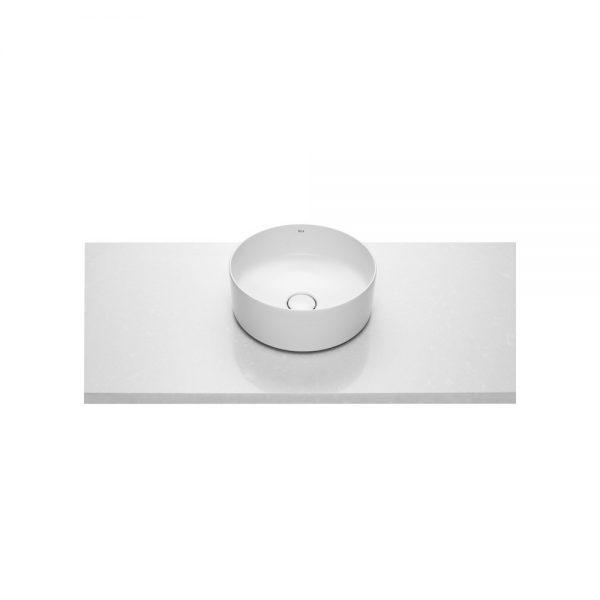 Zdjęcie Umywalka nablatowa cienkościenna Roca Inspira 37×37 cm Round FINECERAMIC® A327523000