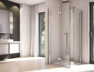 Drzwi jednoczęsciowe otwierane SOL1 90cm + ścianka boczna SOLT1 90 cm Solino SanSwiss SOLF1G1005007/SOLT108005007