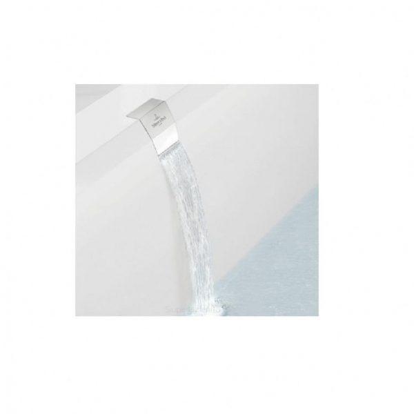 Zdjęcie Przyłącze wody Villeroy & Boch zintegrowane z przelewem, syfon wannowy chrom upcon0123