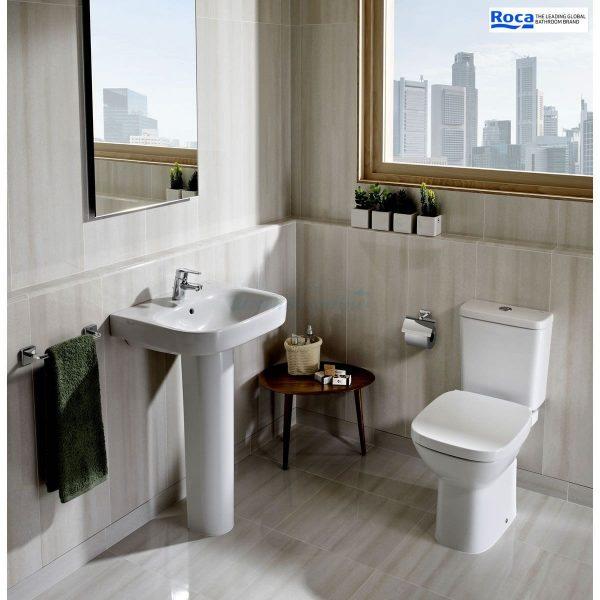 Zdjęcie Miska WC o/poziomy do kompaktu WC Roca Debba 35,5×65,5 cm A342997000