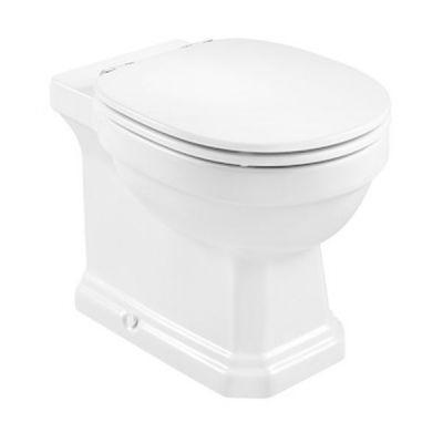 Miska WC Rimless stojąca o/podwójny Roca Carmen Maxi Clean 37x56 cm, biała A3440A900M