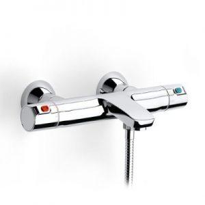 Bateria wannowo-prysznicowa ścienna termostatyczna bez zestawu Roca T – 500 chrom A5A1118C00