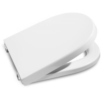 Deska WC Duroplast wolnoopadająca (pelne siedzisko) Roca Dostępna Łazienka, biała A801232004