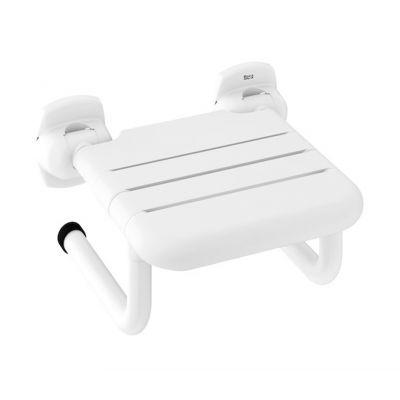 Składane siedzisko Roca Access Pro 40x23,7 cm białe, A816962009