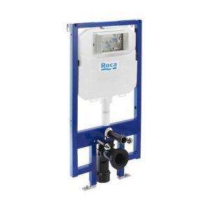 DUPLO WC COMPACTO - Stelaż podtynkowy (zabudowa lekka) do WC 2/4, 3/4,5 oraz 3/6 (DN90 + DN100) Roca Stelaże 58x114 cm A890080020