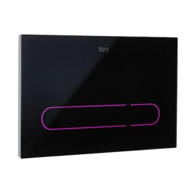 EP1 - przycisk elektroniczny z możliwością automatycznego lub bezdotykowego uruchamiania przycisku i wyborem kilku kolorów iluminacji Roca Stelaże 25x16 cm  A890102008