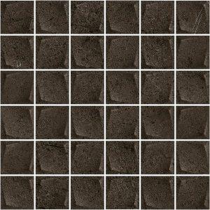 Paradyż Minimal Stone Nero Mozaika Prasowana K.4,8 x 4,8  29,8 x 29,8 cm