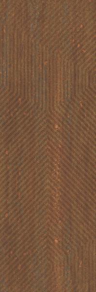 Zdjęcie FIRE ROCKS RUST Ściana  Rekt. PASKI 29,8 x 89,8 cm