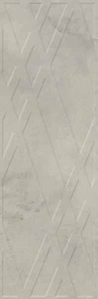 Paradyż Pure City Grys Ściana  A Struktura Rekt. 29,8 x 89,8 cm