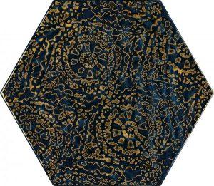 Paradyż Urban Colours Blue Inserto Szklane Heksagon A 19,8 x 17,1 cm