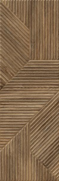 Paradyż Woodskin Brown Ściana  A Struktura Rekt. 29,8 x 89,8 cm