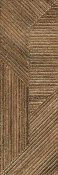 Paradyż Woodskin Brown Ściana  B Struktura Rekt. 29,8 x 89,8 cm
