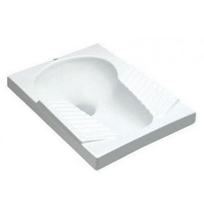 WC tureckie Roca Orient 45x60 cm, biały A345090001