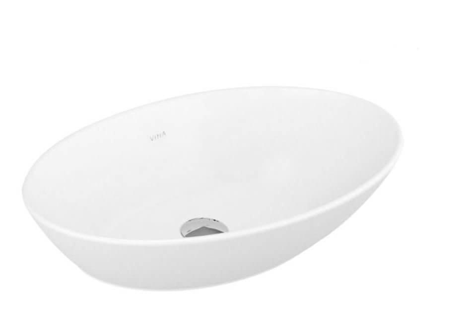 Umywalka nablatowa Vitra Geo 60x38 cm mat 4423B001-0016