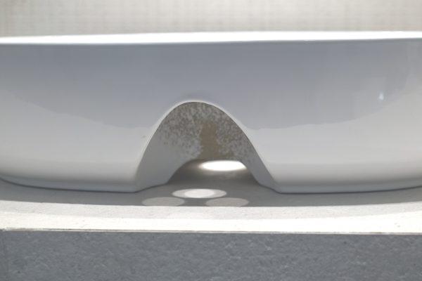 Zdjęcie Umywalka nablatowa Aquahome Cambiera 61x40x12 cm
