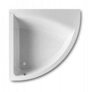 Symetryczna narożna wanna akrylowa (Lewa) 135x135 cm Roca Easy biały A248191000