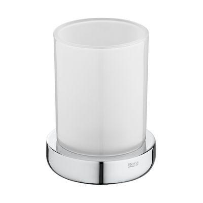 Pojemnik na szczoteczki nablatowy szklany Roca Tempo 11,2x8,7 cm A817022001
