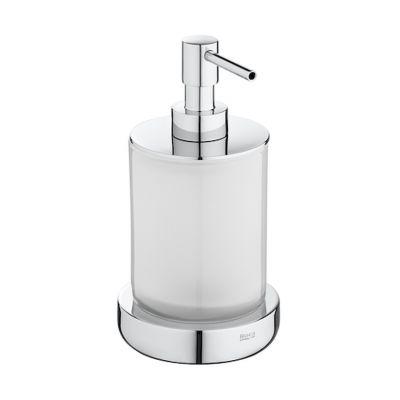 Dozownik szklany nablatowy Roca Tempo 16,5x8,7 cm A817026001
