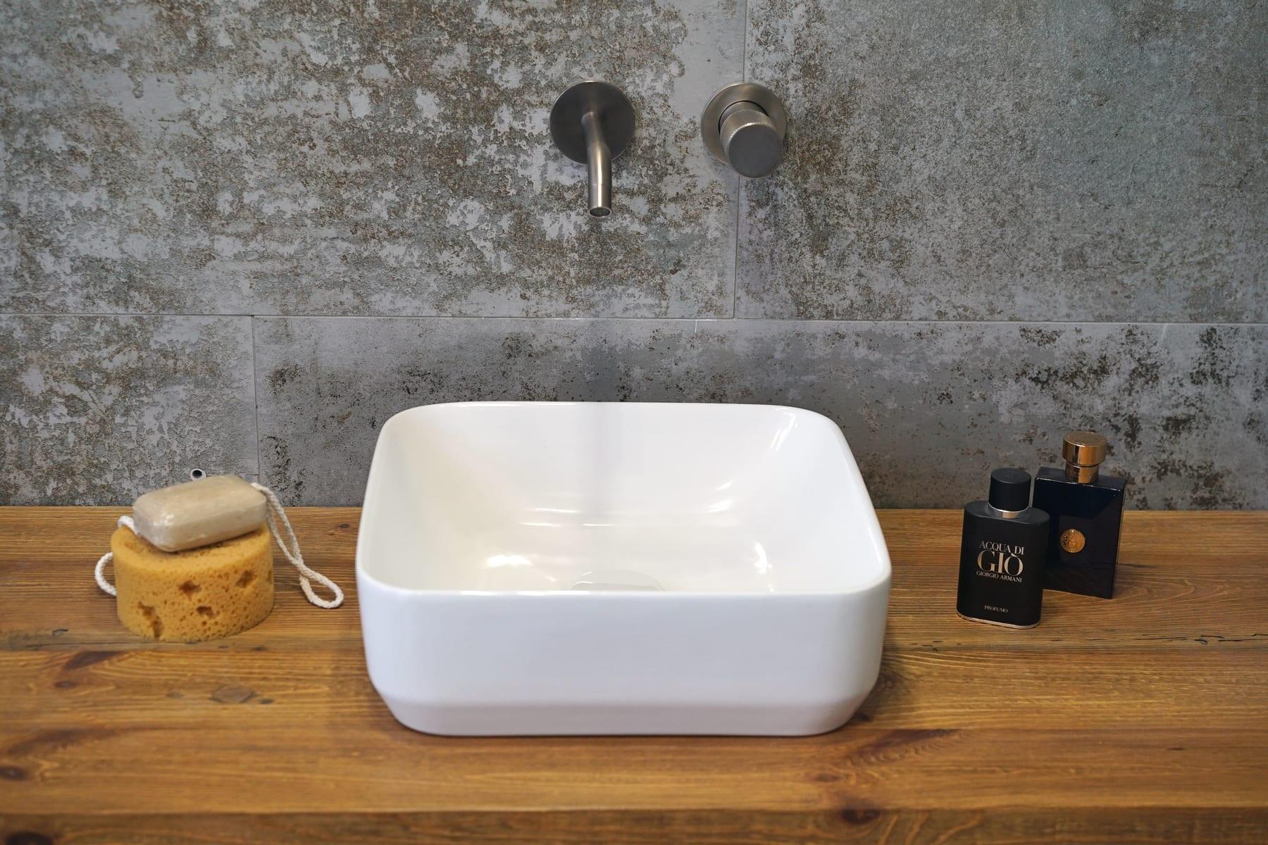 Umywalka nablatowa Aquahome Buena360x360x125 mm