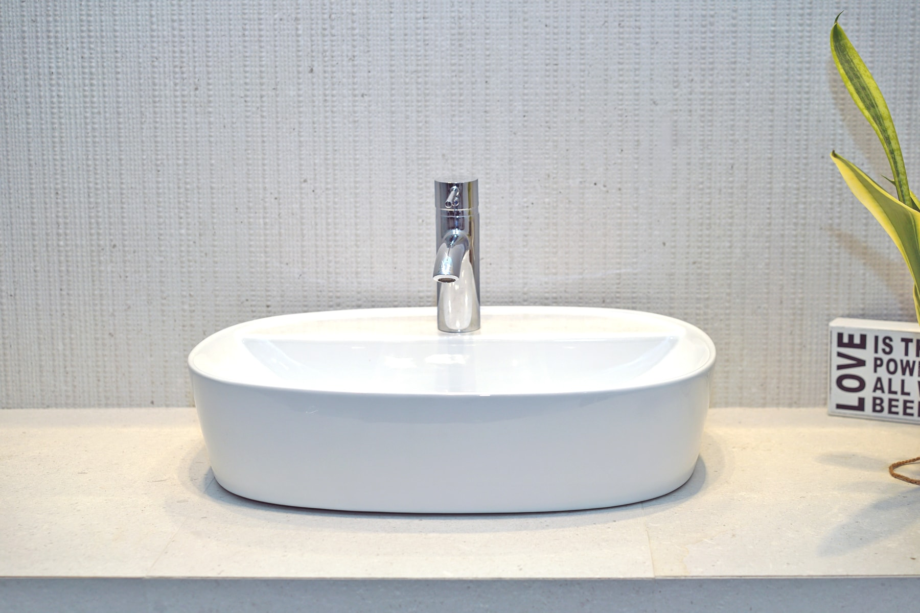 Umywalka nablatowa Aquahome Domi 50x38x12 cm