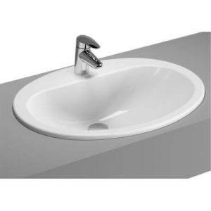 Umywalka wpuszczana w blat Vitra Arkitekt 60x46,5 cm biały 6030B003-0001