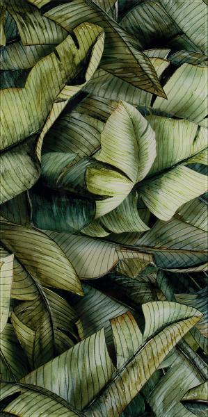 Dekoracja Paradyż Natura Inserto Szklane Leaf A 30x60 cm