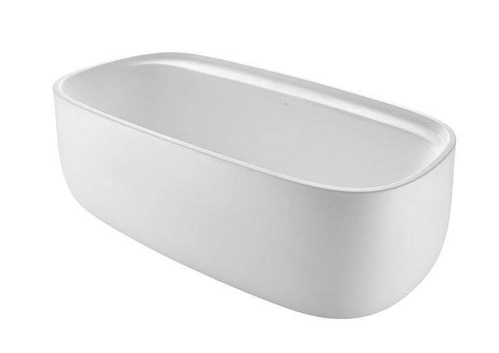 Owalna wanna kompozytowa wolnostojąca SURFEX ® Roca Beyond 184,6x93,7 cm biały A248452000